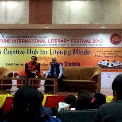 Shashi Tharoor at the PILF 2015