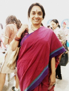 Woman attending the Festival
